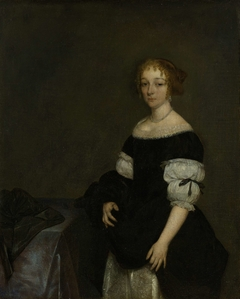 Aletta Pancras (1649-1707) Wife of François de Vicq