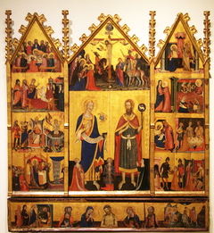 Altarpiece of the Saints John