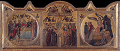 Altarpiece with crucifixion from Soest