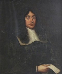 An Unknown Gentleman holding a Letter