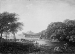 Arcadian Landscape. Motif from Baia in Italy
