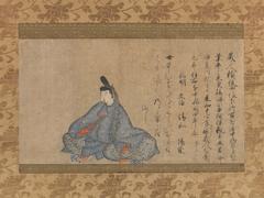 Ariwara Narihira (825–880), from the Fujifusa version of Thirty-six Immortal Poets