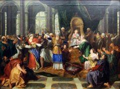 Athaliah Expelled from the Temple