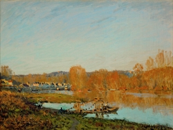 Autumn: Banks of the Seine near Bougival