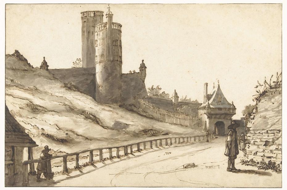 Belvedere en de Hoenderpoort te Nijmegen