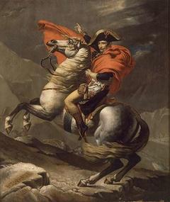Bonaparte überquert den Großen St. Bernhard
