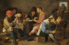 Boors Smoking and Drinking