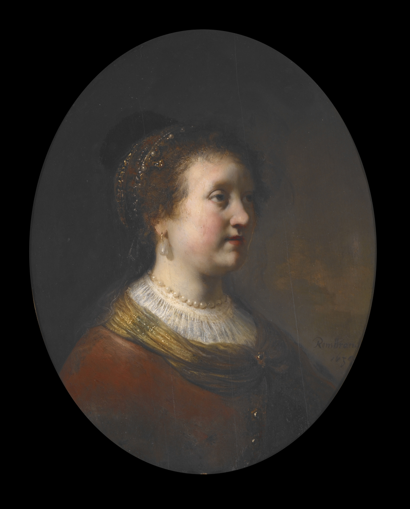 Bust of a young woman, formerly known as Rembrandt's sister