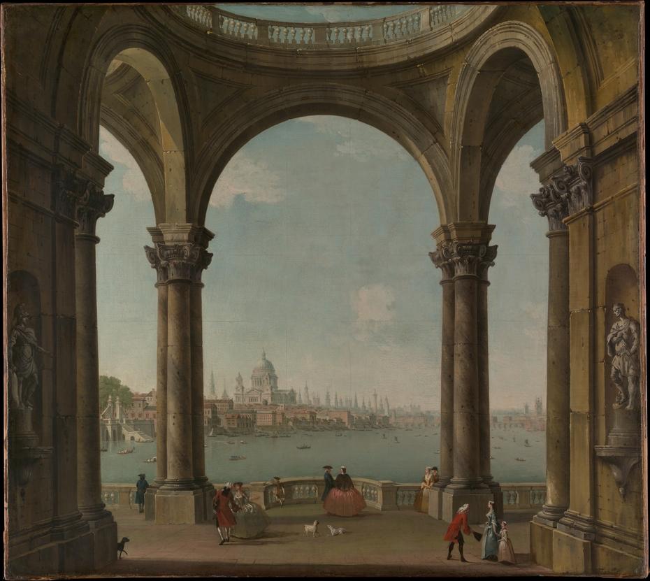 Capriccio with St. Paul's and Old London Bridge