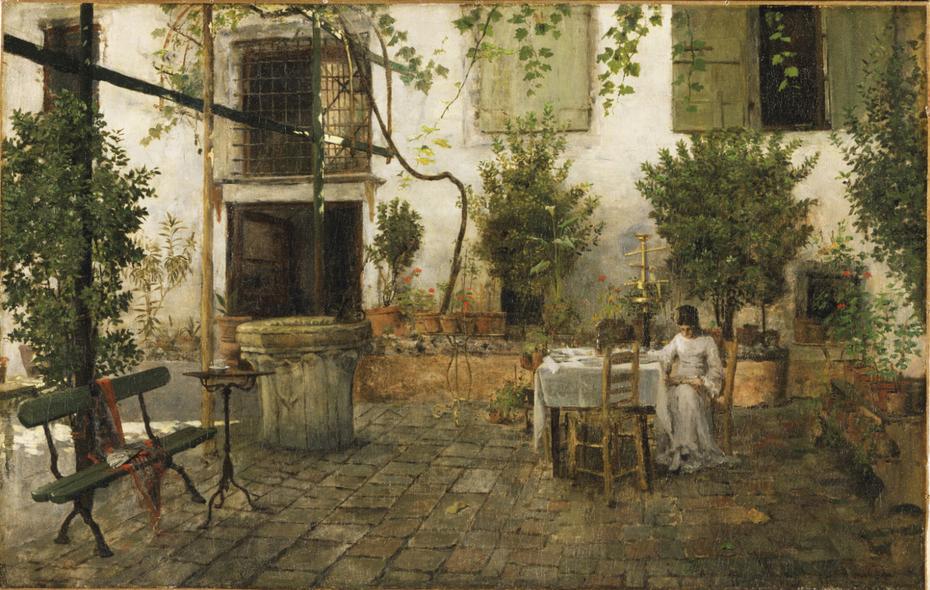 Courtyard in Venice