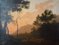 Dancers in a Landscape