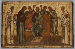 Deesis - Christ Enthroned with Saints