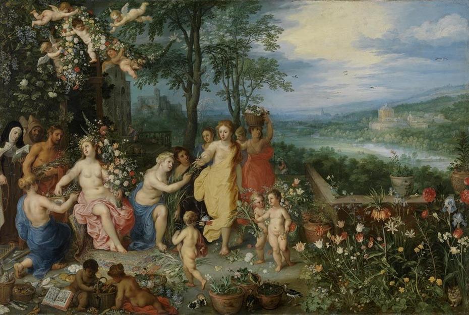 Der Frühling mit Hendrik van Balen