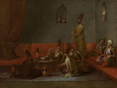 Dervishes Sharing a Meal