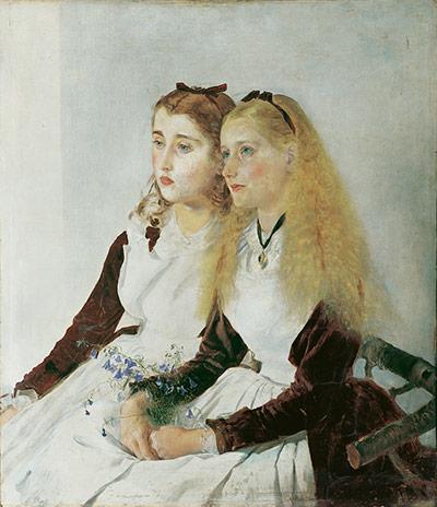 Die Nichten des Künstlers, Elisabeth und Maja