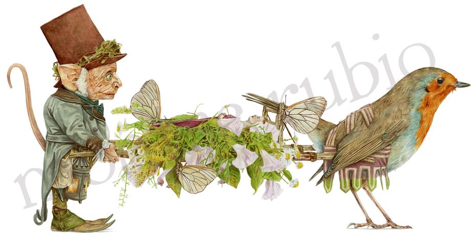 Fairies funeral