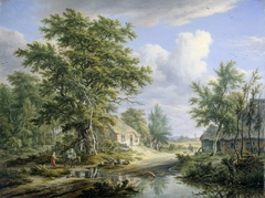 Farms on the Fringe of a Wood