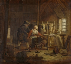 Flirtation in a Cowshed