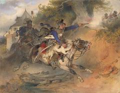 Foraging Hussars