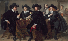 Four directors of the arquebusier's guild, Amsterdam, 1655