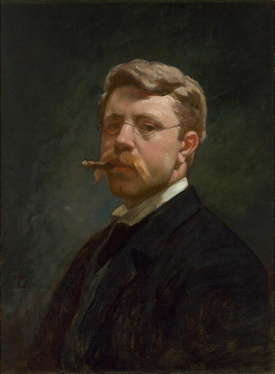 Frank Duveneck Self-Portrait