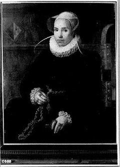 Geertrui Pauwels (overl.1585). Echtgenote van Gijsbrecht van Nesse
