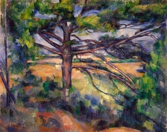 Grand pin et terres rouges (Large Pine and Red Earth)