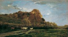 Herbstliche Aulandschaft