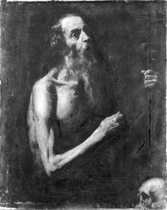 Hl. Hieronymus in der Einöde (Nachahmer)