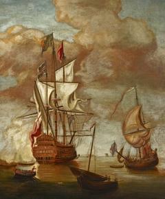 'HMS Sovereign of the Seas' (i.e 'Royal Sovereign']