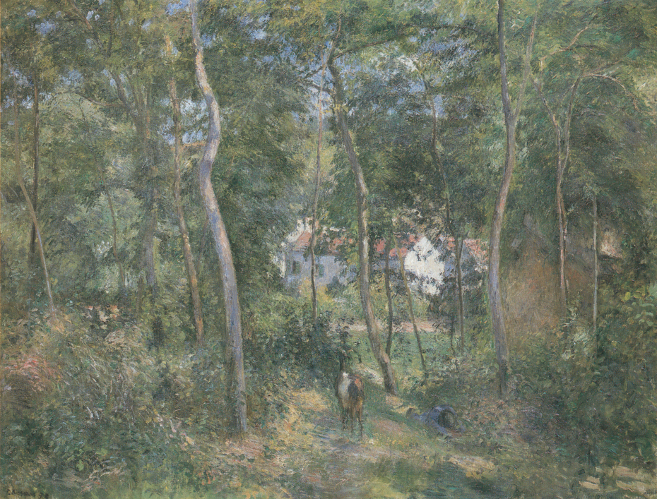 In the Woods at L'Hermitage, Pontoise