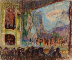 Interior View of the Finnish Opera