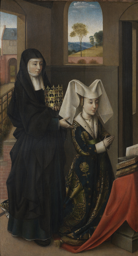 Isabel of Portugal with Saint Elizabeth