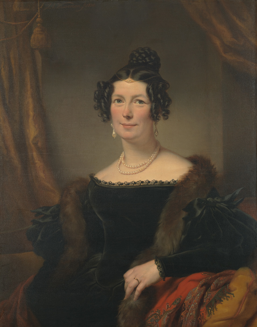 Jacoba E. Willet-Swarts (1799-1869), echtgenote van Dr. Abraham Willet (1790-1851)