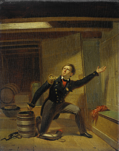 Jan van Speijk steekt de lont in het kruit, 5 februari 1831