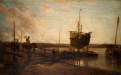 Jetty With Boats