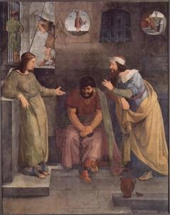 Joseph interpreteting the Dreams in Peison