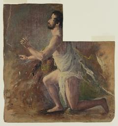 Kneeling Male Figure