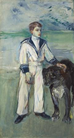 L'Enfant au chien, fils de Madame Marthe et la chienne Pamela, Taussat