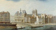 L'Hôtel de Ville et la place de Grève