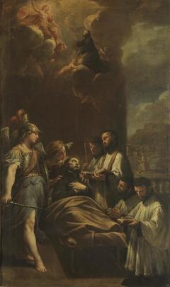 La muerte de San Cayetano