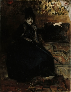 Lady in Black, Seated (Thérèse noire)
