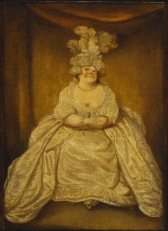 Lady Pentweazle (from Samuel Foote's Taste, 1752)