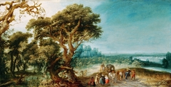 Landscape with a Carriage Hold-Up