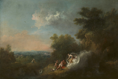 Landscape with Diana appearing to Endymion