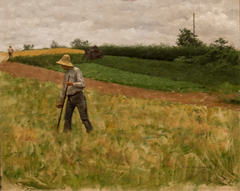 Landscape with Haymaker