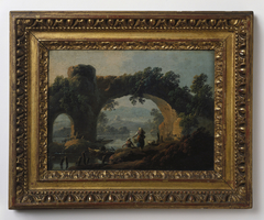 Landscape with Rustic Figures