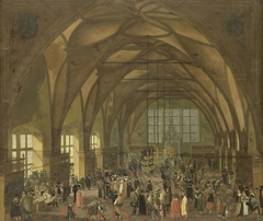 Large Hall in the Prague Hradschin Castle