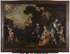 Laurens Ravens (1602-1685) met zijn familie