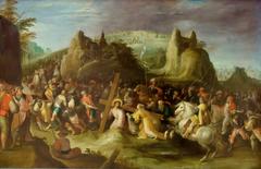 Le Christ montant au Calvaire et la rencontre de sainte Véronique